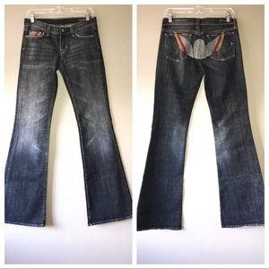 CITIZENS OF HUMANITY Big Sur Flare Jeans Sz 27